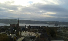 However, the view on Tay Bridge is a wonderful sight.